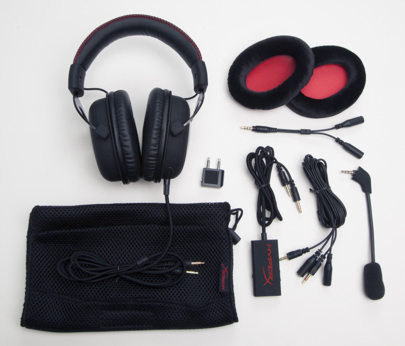HyperX Cloud Pro - Gaming Headset - Black & Red