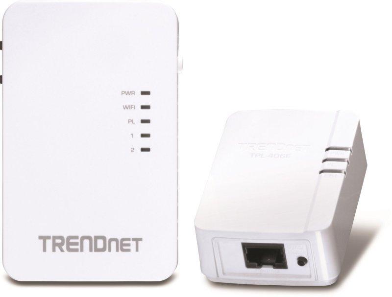 TRENDnet TPL-410APK - Wireless Range Extender Powerline Kit