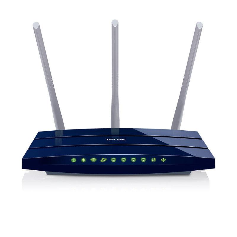 Image of TP-Link TL-WR1043ND Wireless-N300 Gigabit Router w/ USB port