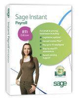 Sage Instant Payroll Exchange RTI Edition- Electronic Download