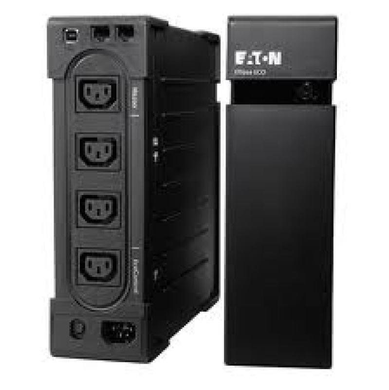 Eaton Ellipse ECO 650 USB IEC - UPS - AC 230 V - 400 Watt - 650 VA - USB - 4 Output Connector(s) - 2U