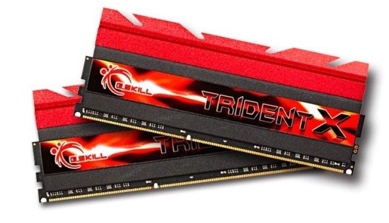 Image of G.Skill 16GB(8GBx2) G-Skill TridentX DDR3 PC3-14900 1866mhz Cas8 1.6