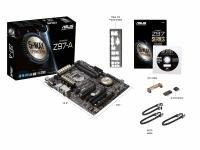 Asus Z97-A Socket 1150 VGA DVI HDMI DisplayPort 8-ch audio ATX Motherboard