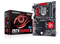 Gigabyte GA-Z97X-Gaming 3 Socket 1150 VGA DVI HDMI 8 Channel Audio ATX Motherboard