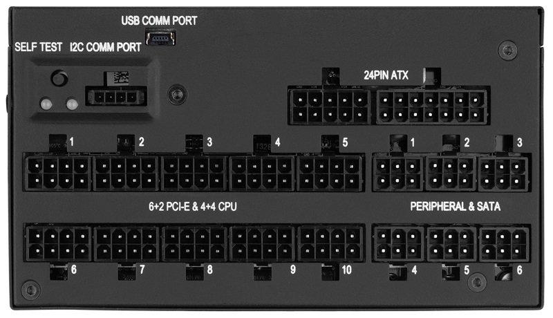 Corsair AX1500i 1500W 80 Plus Titanium Digital Power Supply