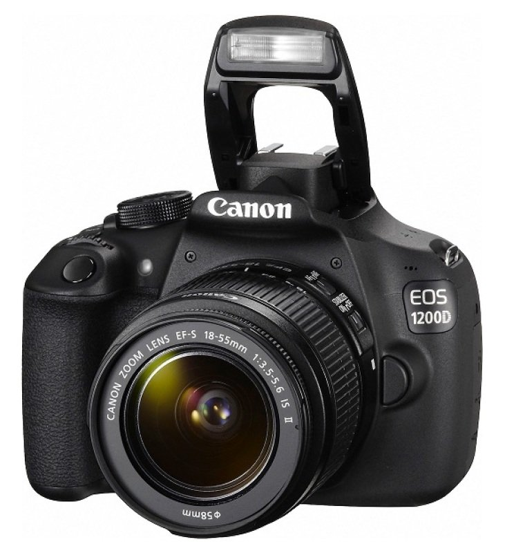 Image of Canon EOS 1200D Digital SLR Camera - Eos 1200d Ef-s 18-55mm F/3.5-5 - F/3.5-5. In