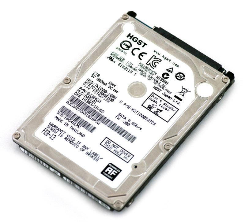 HGST 1TB Travelstar 2.5&quot SATAIII Hard drive 5400RPM 8MB Cache