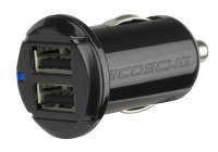 Scosche Revolt 12w + 12w Dual USB Car Charger For Ipod Iphone And Ipad