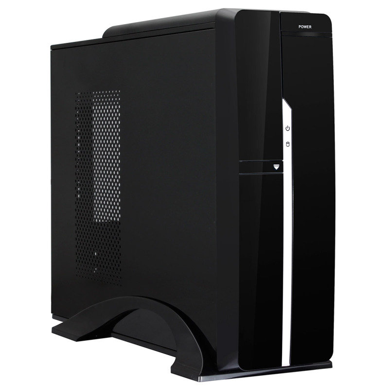 Image of Black Slim Micro ATX & ITX PC Case