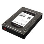 StarTech.com 2.5 inch  to 3.5 inch SATA Aluminum Hard Drive Adapter Enclosure with SSD / HDD Height up to 12.5mm