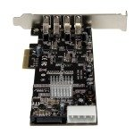 StarTech.com 4 Port PCI Express USB 3.0 Card w/ 4 Dedicated Channels - UASP