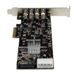 StarTech.com 4 Port PCI Express USB 3.0 Card w/ 4 Dedicated Channels - UASP