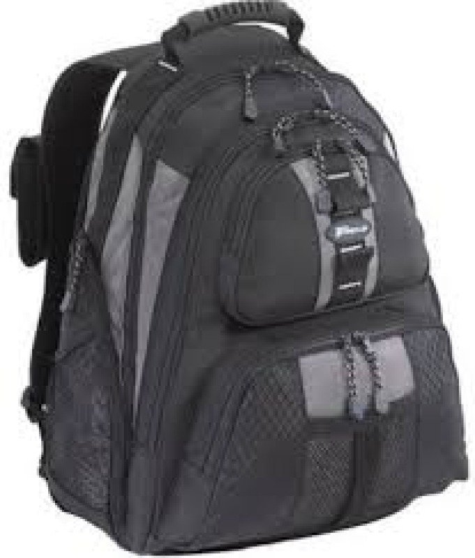 Targus Sport Standard Backpack  Notebook carrying backpack  Black Platinum  for up to 15.4&quot Laptops