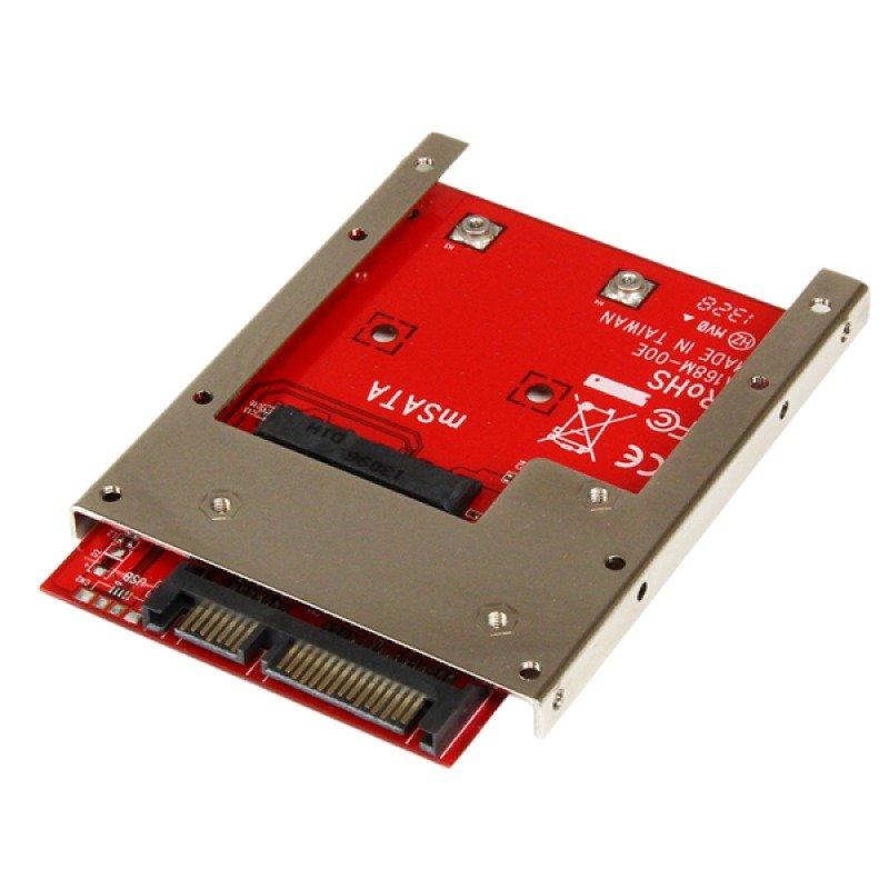 StarTech.com mSATA SSD to 2.5 inch SATA Adapter Converter
