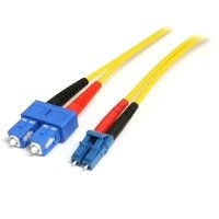StarTech.com (10m) Single Mode Duplex Fiber Patch Cable LC-SC
