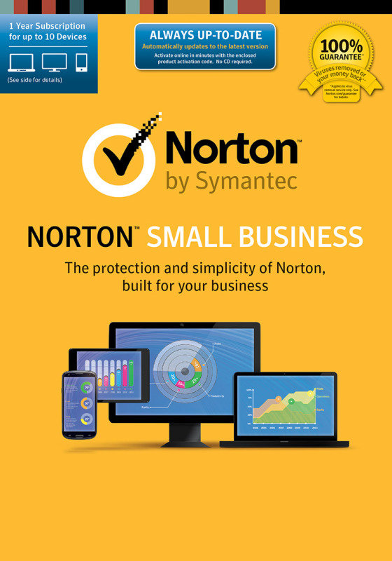 Norton Small Business 1.0IN 1User 20 Devices Electronic Software Download