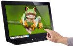 "HannsG 23"" HT231HPB Touch Screen HDMI LED Monitor"