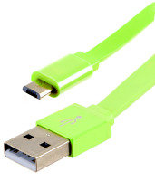 Xenta Micro USB to USB 1.5M Green