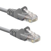 Xenta Cat6 Snagless UTP Patch Cable (Grey) 3m