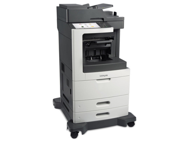 Lexmark MX810DFE A4 Multifunction Mono Laser Printer
