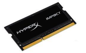 HyperX 8GB 1600MHz DDR3L CL9 SODIMM 1.35V Impact Black Series Memory