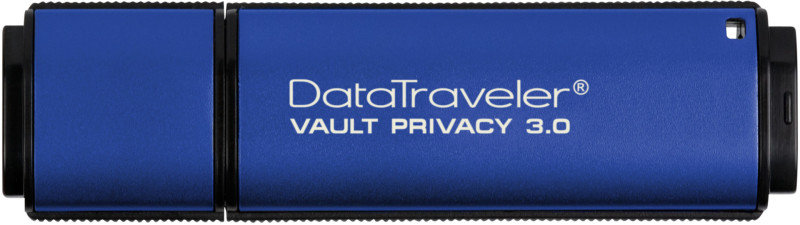 Kingston Technology Data Traveler Vault Privacy USB 3.0 Hardware Encrypted 8GB Secure Flash Drive