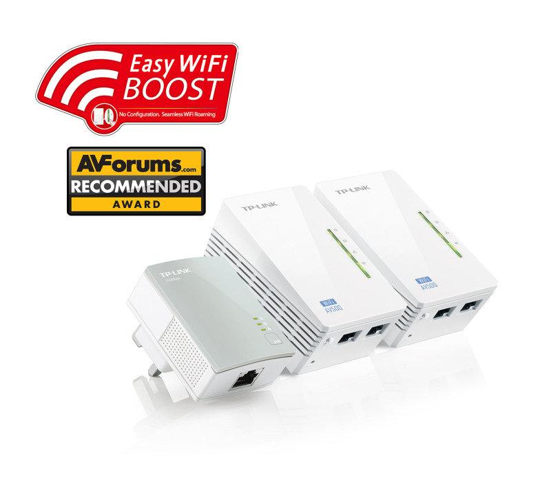 tp link tl wpa4220t kit av500 powerline universal wifi range extender ebuyer. Black Bedroom Furniture Sets. Home Design Ideas