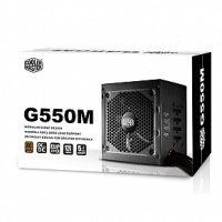 EXDISPLAY Coolermaster GM-Series 550W Semi Modular 80+ Bronze Power Supply