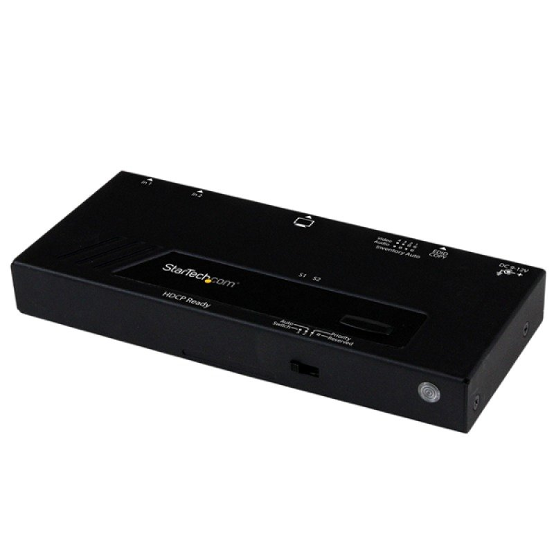 2port Hdmi Switcher W/ - Automatic Priority Port Selector
