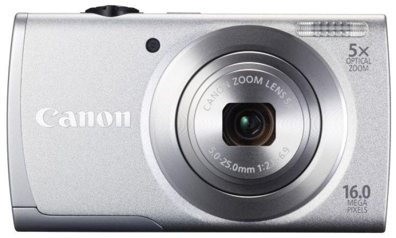 Canon Powershot A2600 Silver Camera