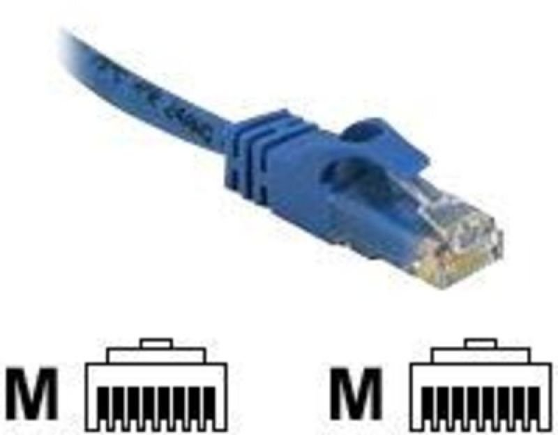 C2G, Cat6 550MHz Snagless Patch Cable Blue, 2m