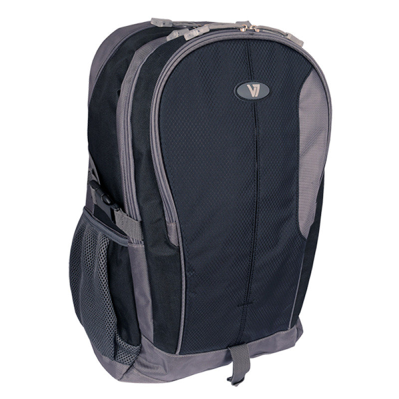 Image of V7 Sport Laptop Backpack 15.6in - 3 Zip Storage W/ Accs Organizer In