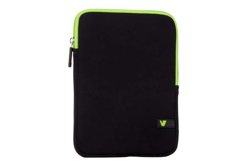 Image of V7 Sleeve Ipad Mini Tablet - Neoprene 90g Black/green