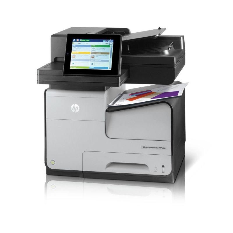 Image of HP Officejet Enterprise Pro X585dn A4 Colour Multifunction Inkjet Printer