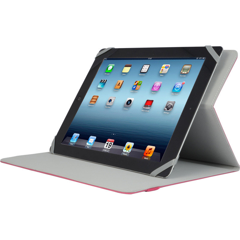 Image of V7 Slm Folio Case Univ Red - For Most Tablets Up To 10in