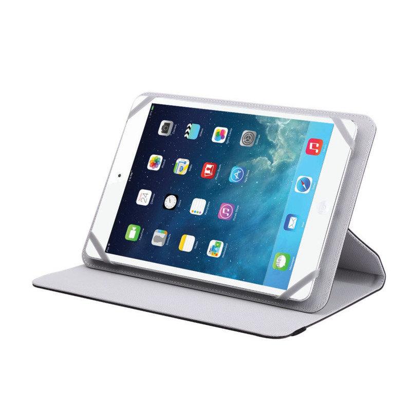 Image of V7 Slim Folio Case Tblt 10in - Blk F Most Tablets Upto 10 Rotating