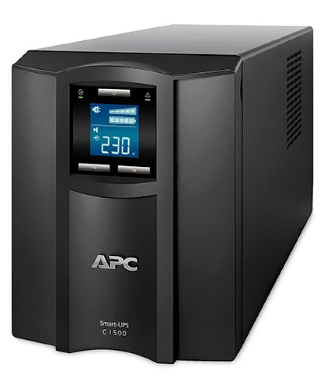 APC Smart-UPS C 900 Watts /1500 VA LCD 230V