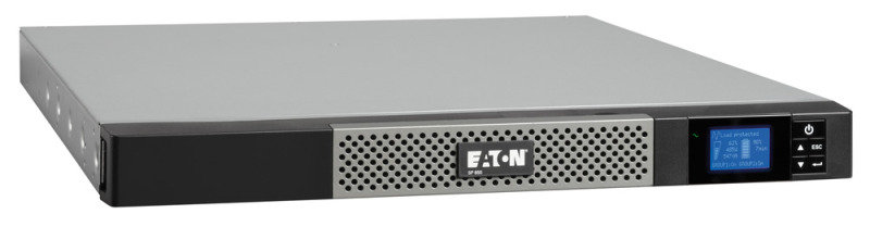 Image of Eaton 5P 650i Rack 1U 650va/420w Input:c14 Out: (4) C13 3 Yr Warranty