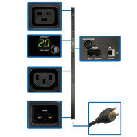 PDU Monitored 208V - 240V 20A 20 C13; 4 C19 Outlet 0URM
