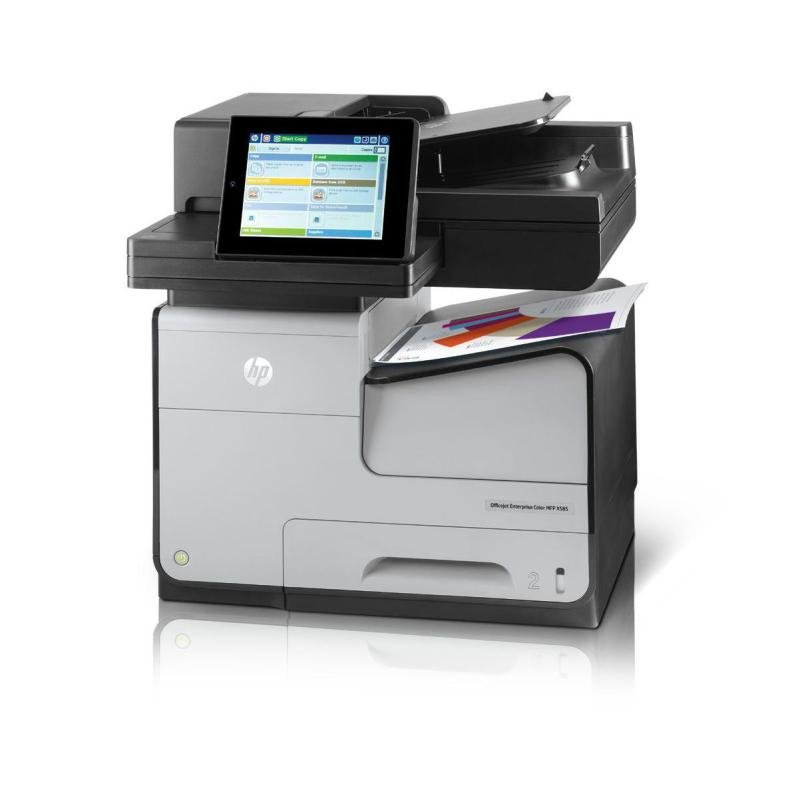 HP Officejet Enterprise Color Flow X585z Multifunction Printer