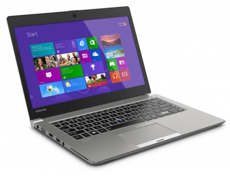 Toshiba Portege Z30tA107 Laptop Intel Core i54200U 4GB RAM 128GB SSD 13.3&quot FHD Touch NoDVD Camera Wifi Windows 7 Professional (plus Windows 8.1 Professional)