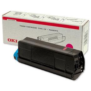Oki C5100/5200/5300/5400 Magenta Toner