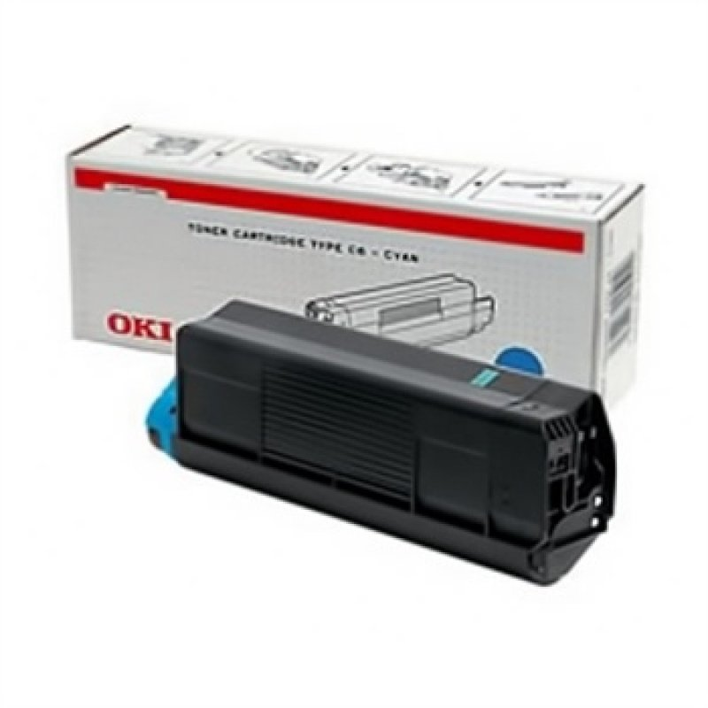 Oki Cyan Toner 3k C5200/5400