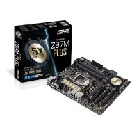 Asus Z97M-PLUS Socket 1150 VGA DVI HDMI 8 Channel HD Audio mATX Motherboard