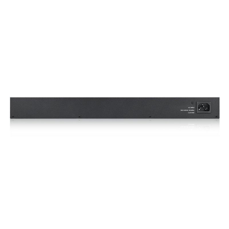 Zyxel GS1900-48 - 48 Port Gigabit Smart Managed Rackmount Switch