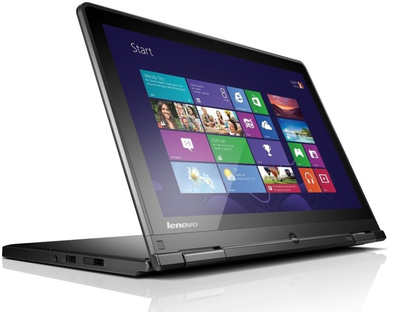 Lenovo Thinkpad Yoga Convertible Laptop Intel Core i54300U 1.9GHz 8GB RAM 500GB HDD 12.5&quot Touch NoDVD Intel HD Webcam Bluetooth Windows 7  8 Pro