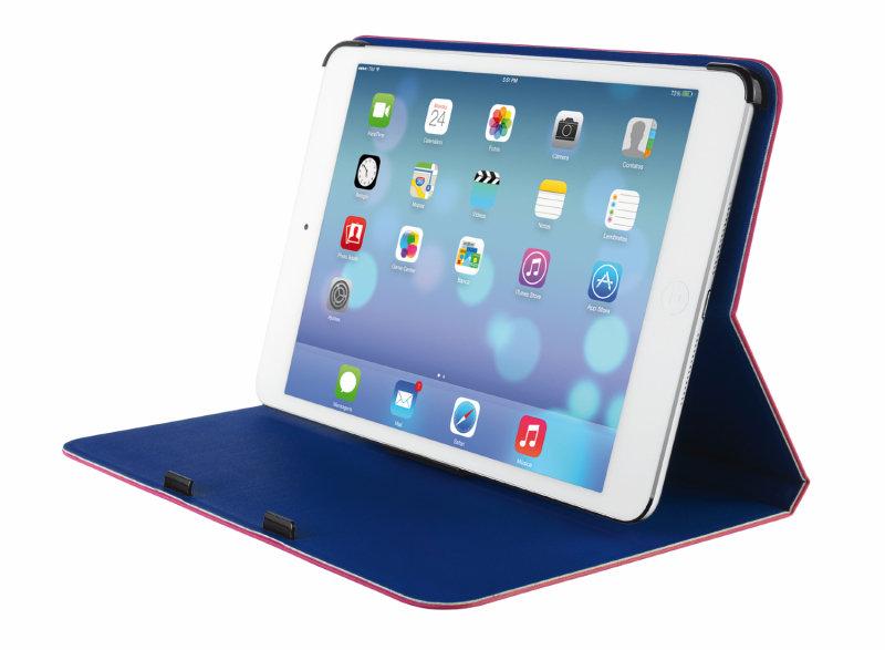 Aero Ultrathin Folio Stand for iPad Mini (Pink/Blue)