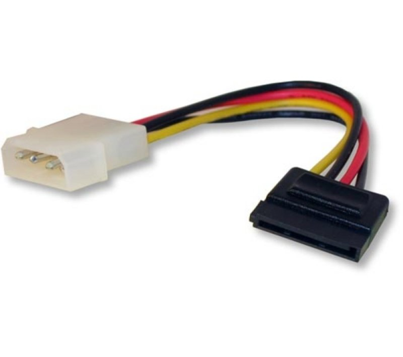 Dynamode Molex (4pin) To Sata (male) Power Cable