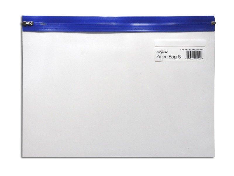 Snopake Zippa Bag A4 Plus Blue 12804 - 25 Pack