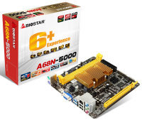 Biostar A68N-5000 Ver. 6.x AMD Fusion APU VGA HDMI 6-Channel HD Audio Mini ITX Motherboard